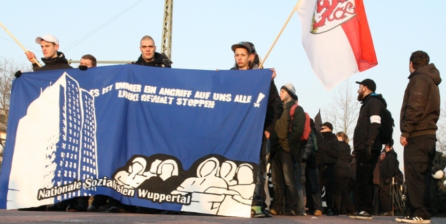 Nationale Sozialisten Wuppertal - jetzt - Die Rechte Wuppertal - 01.2011